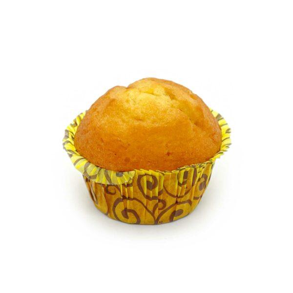 Mjuk, saftig muffin med citronsmak.